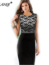 PROMOTION Pencil skirt Dress Lace stitching cultivate one's morality SV004137