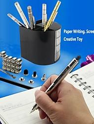 w0055 1шт серебро DIY магнитный ручка с пополнения&стальные шарики