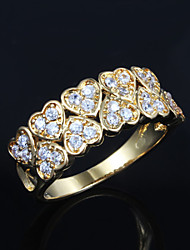 2015 Hot Selling Products Casual Gold Plated Statement Ring Trendy Rings