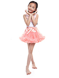 Performance Outfits Women's Performance/Training Chiffon/Cotton Pink Kids Dance Costumes