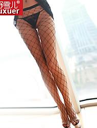 Shuxuer ® Women Polyester Ultra Sexy Net Socks