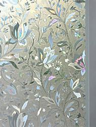 Window Film - Rustique - A fleurs