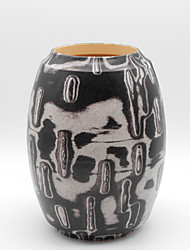 Bark Effect Pattern Vase