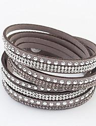 Bracelets Wrap ( Alliage/Strass ) Quotidien