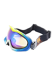 Jimmy Orange Explosion Proof Wrap Ski Goggles
