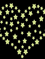Luminous Wall Stickers Wall Decals, Style Stars PVC Wall Stickers