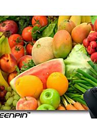 seenpin personalizado mouse pads variedade de design frutas