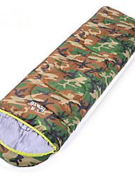 Saco de dormir ( Verde Militar ) - Algodão Rotativo/Poliéster -Permeável á Humidade/Respirabilidade/Á Prova-de-Vento/Mantenha