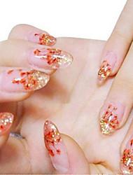 Dedo/Dedo del Pie - Flor - Brillante - Otros - 12 Colors - 11.5*8 - ( cm )
