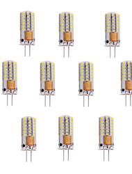 3W G4 LED a pannocchia T 48 SMD 3014 150-180 lm Bianco caldo / Luce fredda V 10 pezzi