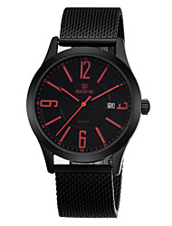 Brand Mens Quartz Watch Generous Simple with Large Calendar Number Display Fashion Watches Wrist Watch Cool Watch Unique Watch