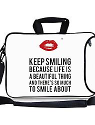 "elonbo mantener sonrisa asa de transporte&hombro bolsa de ordenador portátil correa extraíble de 13 ""macboob pro CV"