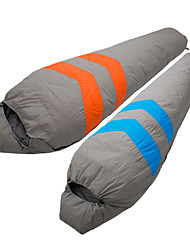 Tripolar Windproof/KEEP WARM/Cold Weather Nylon/Duckdown Sleeping Bag Blue/Orange FA2926X