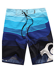 Men's Polyester Floral Swim Shorts