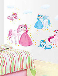 decalques arte dos desenhos animados pegasus pvc parede adesivos de parede