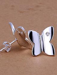 Women's Fashion Temperament 925 Silver Earrings