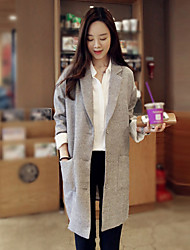 Xia.me  Women's European Fashion Casual Long Sleeve Coat