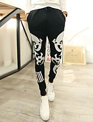 Mode neue 2015 Männer keucht beiläufige pantalones Freien Sport Jogger Haremhosen Männer Muster bedruckt chandal baggy Trainingshose