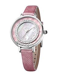 Charming elegant nice design high quality quartz leather band wrist watches DC-51022