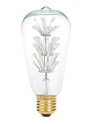 1 pcs E26/E27 20 W 47 230 LM Yellow Decorative Globe Bulbs AC 220-240 V