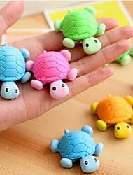 Schildpad vormige Verwisselbare Eraser (willekeurige kleur)