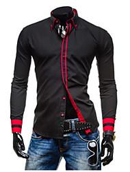 MEN - Camicie casual - Informale A camicia - Maniche lunghe Misto cotone