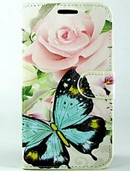 Pour Coque Sony Portefeuille / Porte Carte / Avec Support / Clapet Coque Coque Intégrale Coque Papillon Dur Cuir PU pour SonySony Xperia