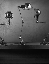 Umei ™ brazo oscilante lámparas de escritorio, tradicional / metal clásico