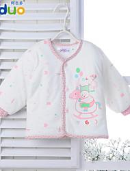 Ajiduo Newborn Baby Clothing Infant Boy Girl Cute Cartoon Cotton Kids Tops Clothes
