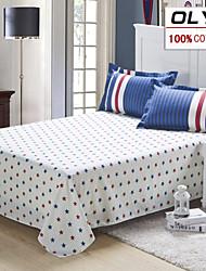 OLYI® Duvet Cover Set 4-Piece 100% Cotton Active Printing Bedding(160*210cm)