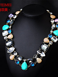 The new luxury high-end magazines, temperament diamond necklace female clothing accessories