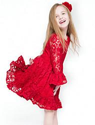 Vestido Chica de - Todas las Temporadas - Algodón