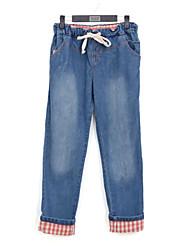 Women's Denim Long Harem Pants