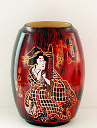 ukiyo-e padrão vaso