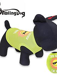 T-shirt voor honden / katten Groen Lente/Herfst XS / S / M / L Textiel Binnenwerk