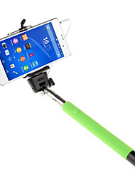 Mowto Z01 Handheld Selfie Rod Monopod for GoPro Hero & Shutter for IOS / Android Cellphones -Green