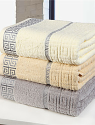Yuxin® Bath Towel 100% Cotton Soft comfortable Beige/Grey/Light Brown