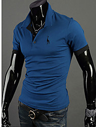 Men's Short Sleeve Printing POLO Shirt