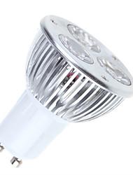 3W GU10 LED Spot Lampen MR16 3 High Power LED 250-300 lm Warmes Weiß / Kühles Weiß Dimmbar AC 220-240 V 1 Stück