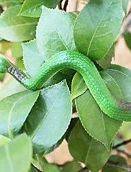 serpente verde simulação em movimento