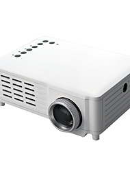 HTP 320 X 240 100 lumens Portable Multimedia LED LCD Mini Projector with HDMI AV-in Video USB,SD,VGA(GP8)