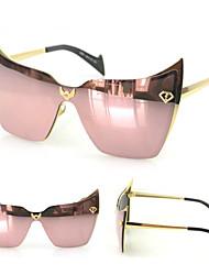 Gafas de Sol mujeres's Modern / Moda Ojo de Gato Plata / Dorado / Azul Gafas de Sol Completo llanta