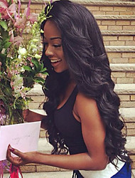 Women Brazilian Virgin Hair Color(#1 #1B #2 #4) Body Wave Hair Lace Front Wigs