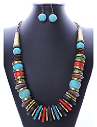(Earrings&Necklaces&) Gemstone Jewelry Sets(color)