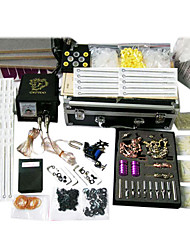 professionele tattoo kits met 3 tattoo machines