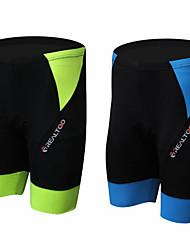 REALTOO Dames/Heren/unisex Zomer Wielrennen Shorts Korte broeken Ademend/Ultra-Violetbestendig/Sneldrogend/wicking Zwart Fietsen