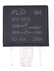 40a relais de puissance de voiture pour feu de brouillard&phares conrtol
