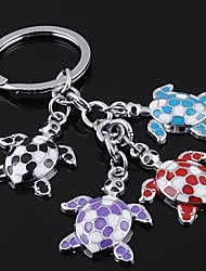 Unisex Alloy Casual Keychain Multicolor Turtle Key Chains