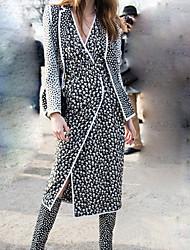 Robes ( Coton ) Informel Manches longues