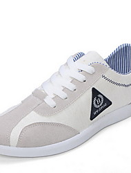 Men's Shoes Casual Canvas Fashion Sneakers Blue/Red/Beige